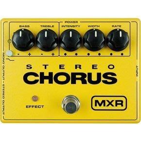 【大鼻子樂器】MXR M-134 Stereo Chorus 效果器  中