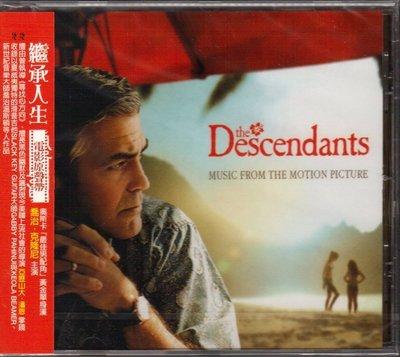 繼承人生  / THE DESCENDANTS - 電影原聲帶 CD