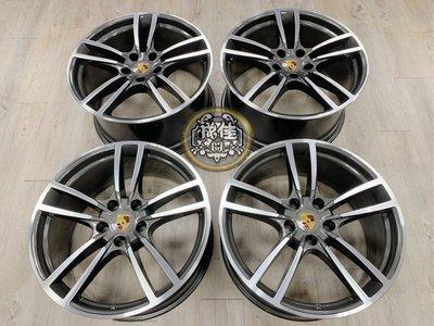 正原廠Porsche New Cayenne Turbo design 21吋前後配鋁圈
