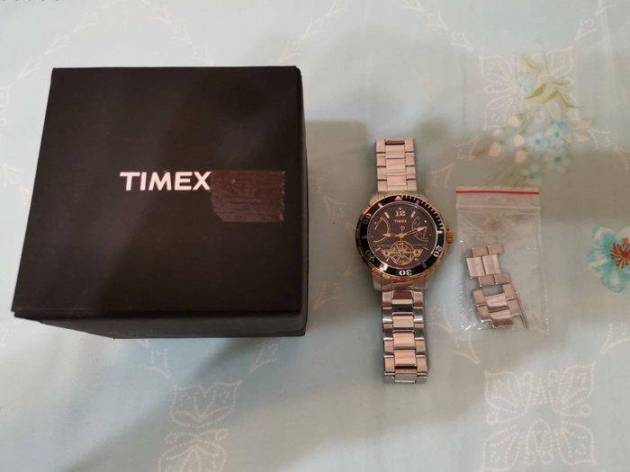 二手正品 TIMEX 天美時 三環自動上鍊 機械 潛水錶 T2M931