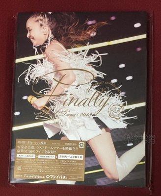 安室奈美惠namie amuro Final Tour 2018 Finally日版藍光Blu-ray+大阪巨蛋公演
