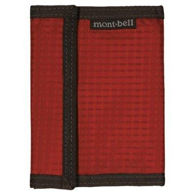 【mont-bell】1123766 TERA 磚橘 輕量皮夾 330D 抗撕裂布 零錢包 輕量短夾 都市旅遊 自助旅行