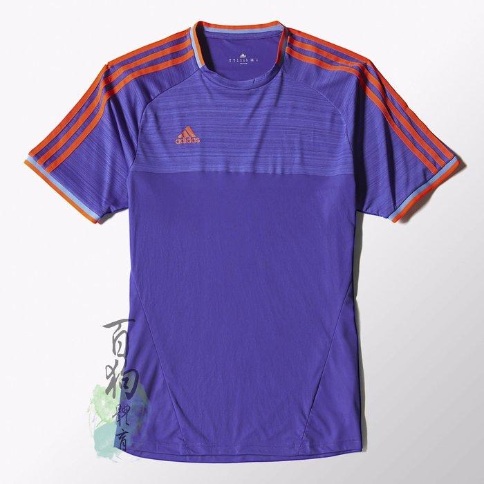 百狗體育 adidas XSE adizero Jersey TEE 快速排汗 短袖T恤 足球 零著感 M36421