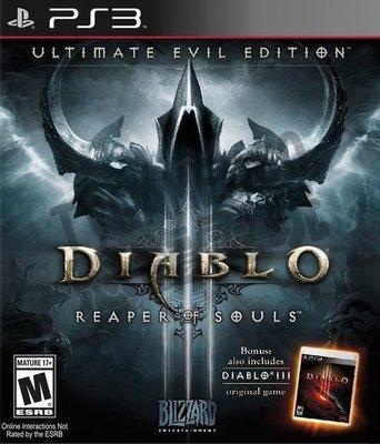 【二手遊戲】PS3 暗黑破壞神 3:奪魂之鐮 - 終極邪惡版 英文版【台中恐龍電玩】
