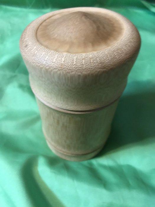 孟宗竹炭化大茶葉罐-S93-BT1000