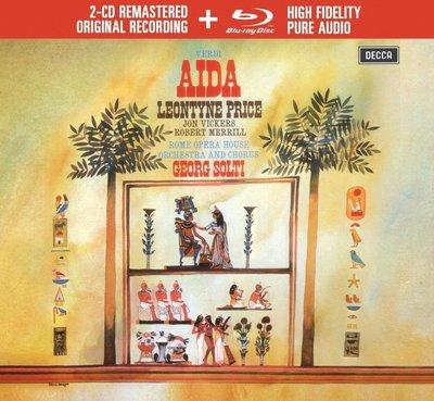 威爾第:阿伊達( 2CD+ BD 藍光音樂片) 普萊絲、維克斯、梅瑞爾 演唱---4831490