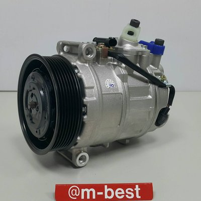 BENZ W211 M271 ML 2003-2008 壓縮機 7溝皮帶用 (外匯新品) 0012308011-D