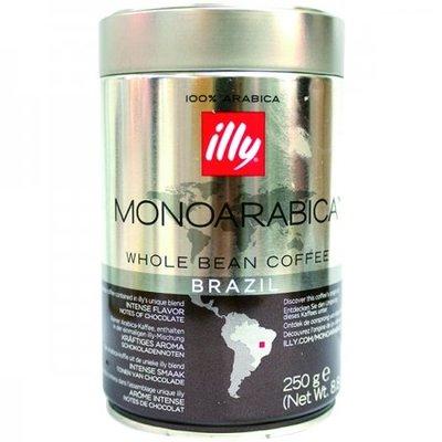義大利Illy單一產區巴西咖啡豆