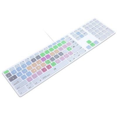 Avid Media Composer快捷鍵適用于蘋果G6一體機臺式機鍵盤貼膜