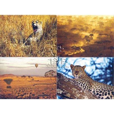Postcard Set: 東非絕色: 坦桑尼亞 Tanzania (4 Sheets)