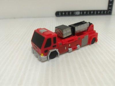 日版 BANDAI VooV 消防車 雲梯車 噗噗變身車 變形車 玩具車 仿真汽車(03