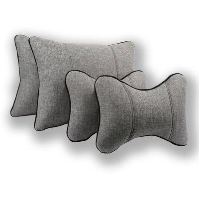 【車王小舖】數碼王汽車頸枕 骨頭枕 RAV4 ALTIS CAMRY YARIS VIOS WISH (單一對頸枕)