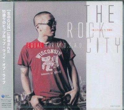 """K - Equal """"E""""qual The Rock City M.O.S.A.D's Town - 日版 - NEW"""