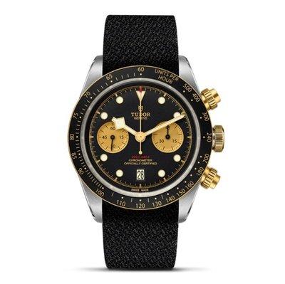 【玩錶交流】全新品 TUDOR 79363N 79363 BLACK BAY S&G 帆布帶 2020/12月盒子保卡
