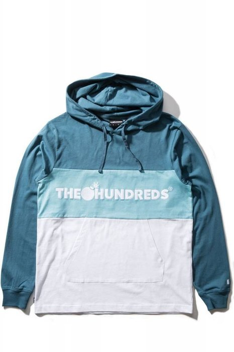 【HOPES】THE HUNDREDS DECK HOODED 帽T -SLATE
