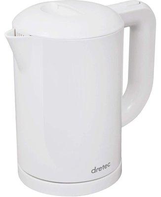【日の良品】日本 DRETEC 輕量快煮壺 電熱水壺 1.0L