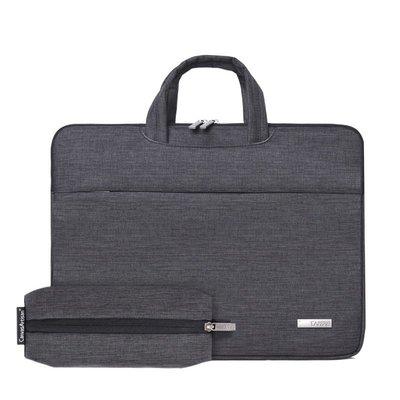 手提包帆布電腦包-商務休閒可伸縮提手男女包包2色73vy16[獨家進口][米蘭精品]
