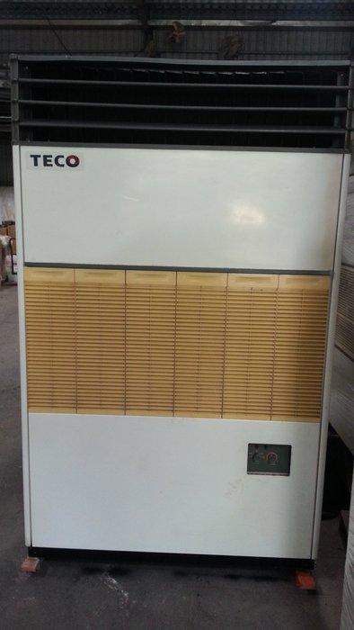 (大台北)中古東元10RT氣冷箱型機3φ220V(編號:TE1040501)~冷氣空調拆除回收買賣出租~