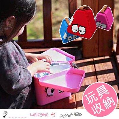 HH婦幼館 兒童便攜積木玩具收納盒 積木桌【3C040M243】
