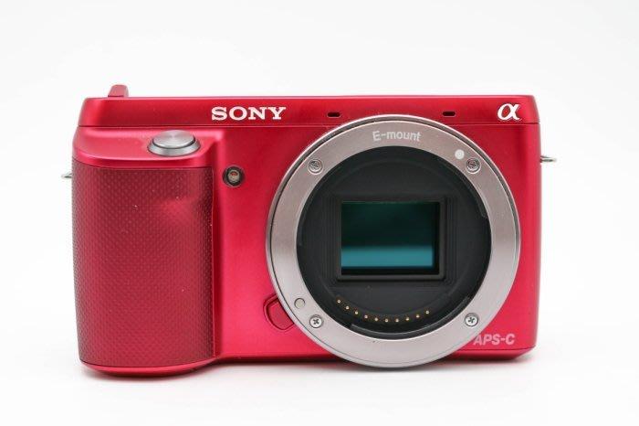 【高雄青蘋果3C】SONY NEX-F3 單機身 桃紅 二手微單眼相機 #34499