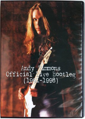 DVD/ Andy Timmons - Official Live Bootleg (1991 -1998) 二手台版