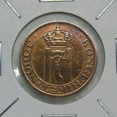 瑞典 (SWEDEN) 1933年 2 ORE 銅幣【A2523】