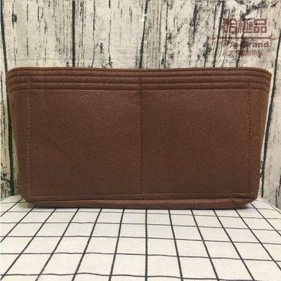 【哈極品】 黑色/咖啡色 名牌包專用毛氈內袋收納夾層 敲好用包中包 33CM