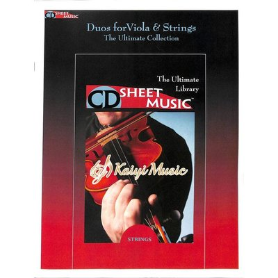 Kaiyi Music ♫Kaiyi Music♫Sheet music duos for viola&strings