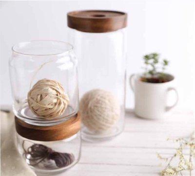 【YOI】CHABATREE 1000CC CYNOSURE GLASS JAR 玻璃罐 ACACIA (ST009)