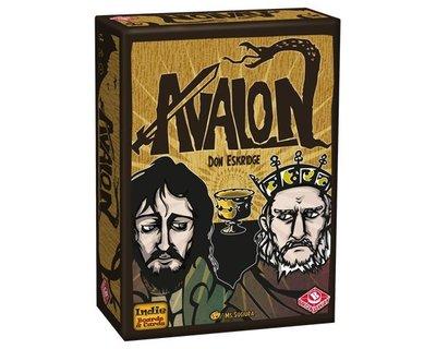 大安殿實體店面 免運送牌套+板塊套 豪華新版大盒阿瓦隆 The Resistance Avalon 附中文規則書正版桌遊