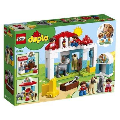 【 美國 LEGO 】LEGO DUPLO Town Farm Pony Stable 10868_預購