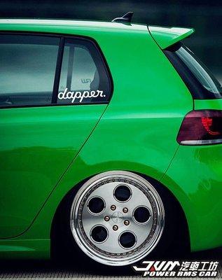 dapper 側檔貼紙 hellaflush車貼