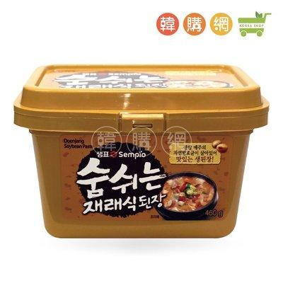韓國膳府傳統味噌醬460g【韓購網】