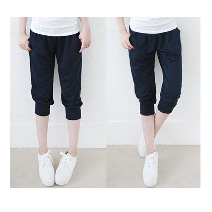 【Hao Da】全館399免運↘「M~XL。現貨」夏日合身 舒適 七分休閒褲   (P1061)