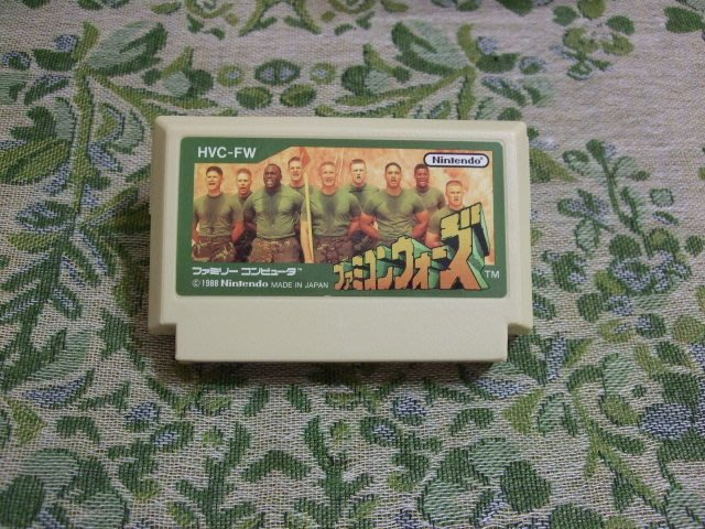 『懷舊電玩食堂』《純日版》【任天堂紅白機(FC)】實體拍攝 FC大戰 Famicom Wars
