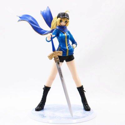 【紫色風鈴3.3】Fate/Stay night 女主角X 塞巴運動服塞巴Saber 盒裝 港版