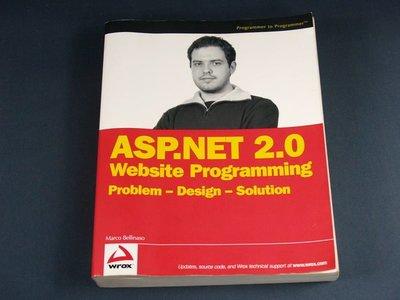 【懶得出門二手書】《ASP.NET 2.0 Website Programming: Problem - Design - Solution