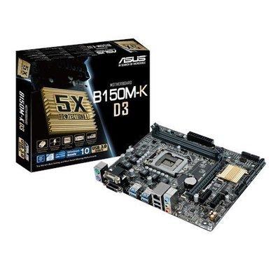 【歐多邁】*華碩 B150M-K D3 主機板 LGA1151 DDR3 高雄市