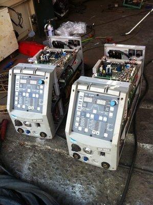 daihen大阪OTC數位焊接機DP-350 鋁焊機 CO2機~可焊-鐵-不銹鋼-銅-鋁- 氬焊機-電焊-點焊機