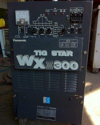 {中古焊接設備維修買賣出租}Panasonic WX3-300交直流氬焊機~微型點焊機~手持式點焊機