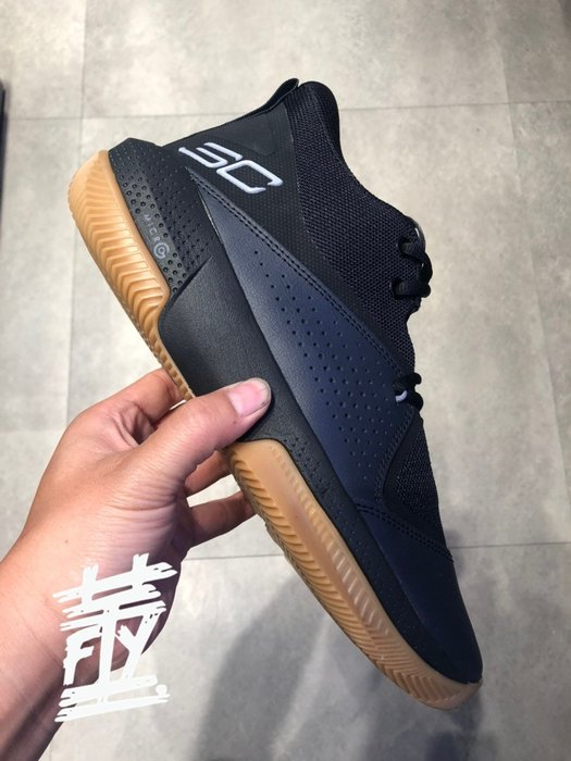 [飛董] UA UNDER ARMOUR SC 3ZER0 IV 籃球鞋 男鞋 3023917 003 黑 101 灰