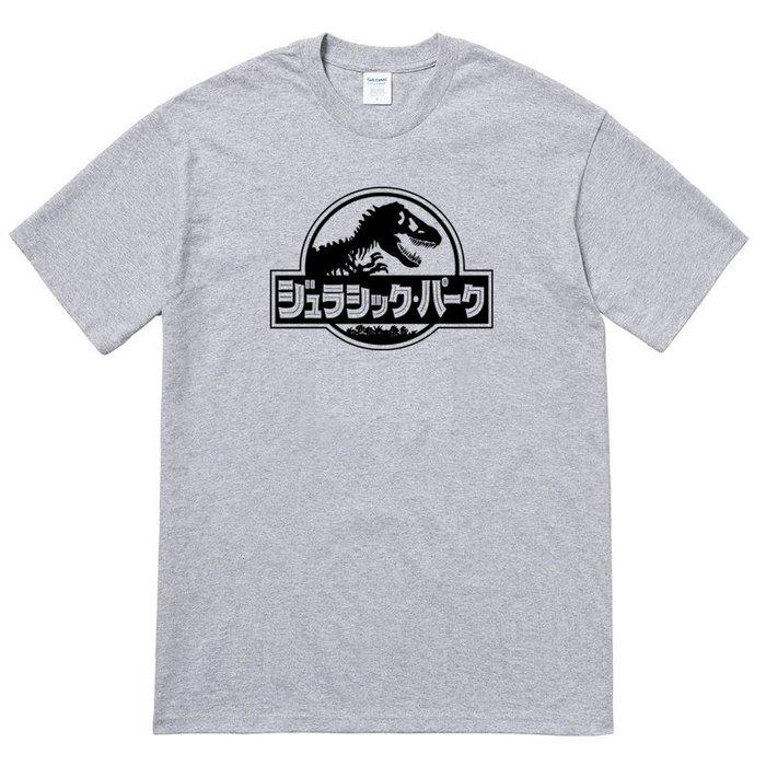 Jurassic Park Japanese 短袖T恤 5色 日文侏儸紀世界 電影 恐龍 變種 暴龍 侏儸紀世界