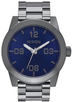 士林手錶專家-NIXON THE CORPORAL SS 曠野風潮腕錶 A346-2065 實體店面