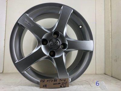 OZ鋁圈HYDRA,7*16 ,4*100,ET37 16吋鋁圈適用PLOL,VW,MINI,喜美