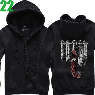 Children Of Bodom【死神之子】連帽厚絨長袖重金屬搖滾樂團外套 新款上市購買多件多優惠!【賣場八】