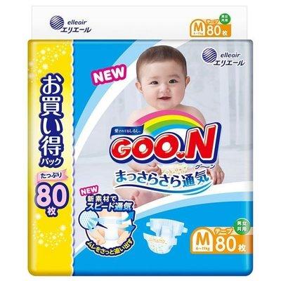 日本原裝 大王製紙 GOO.N 境內版尿布 阿福狗 黏貼 另有 綠幫 紫幫 褲型--440