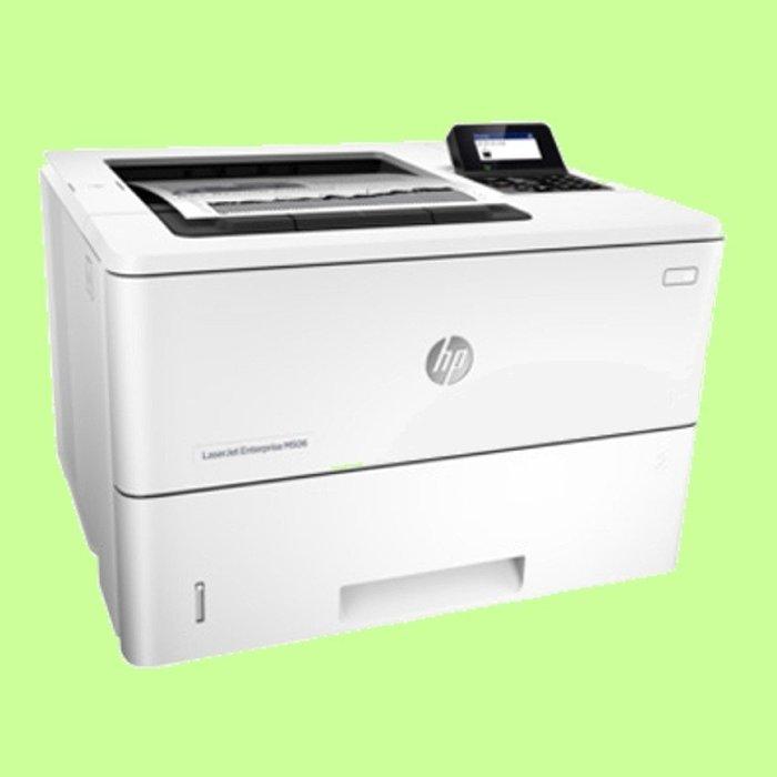 5Cgo【權宇】 HP LaserJet Enterprise M506dn (F2A69A) 黑白高速印表機 含稅