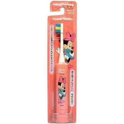 【小糖雜貨舖】日本製 兒童卡通 7000轉 電動牙刷 米妮