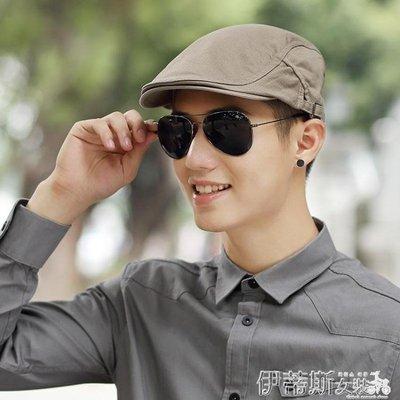 貝雷帽帽子男冬天貝雷帽休閒百搭鴨舌帽韓版時尚青年前進帽潮防曬帽男帽