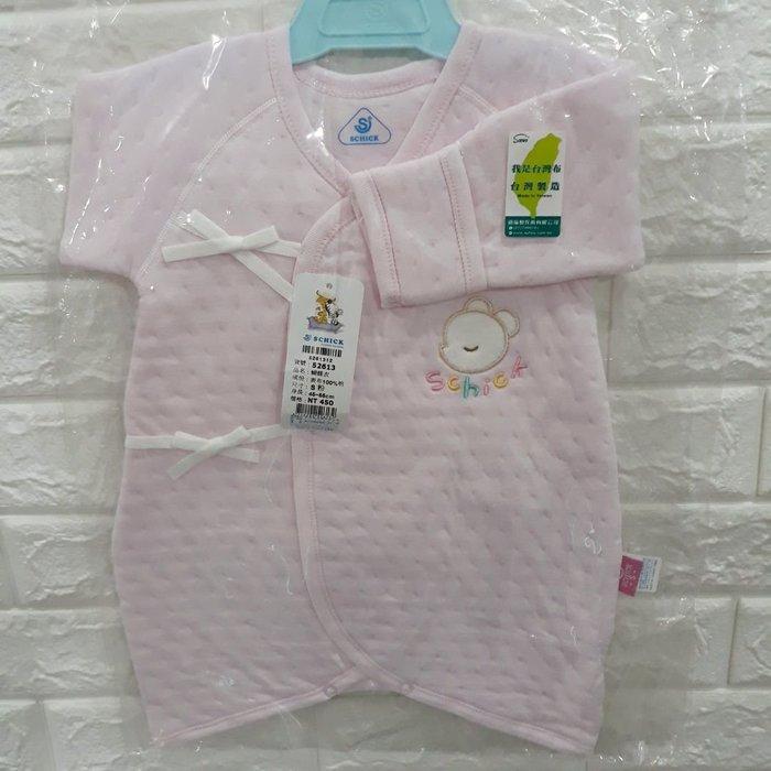 蝴蝶衣服寶寶嬰兒BABY秋冬厚款純棉台灣製造簡單素色風